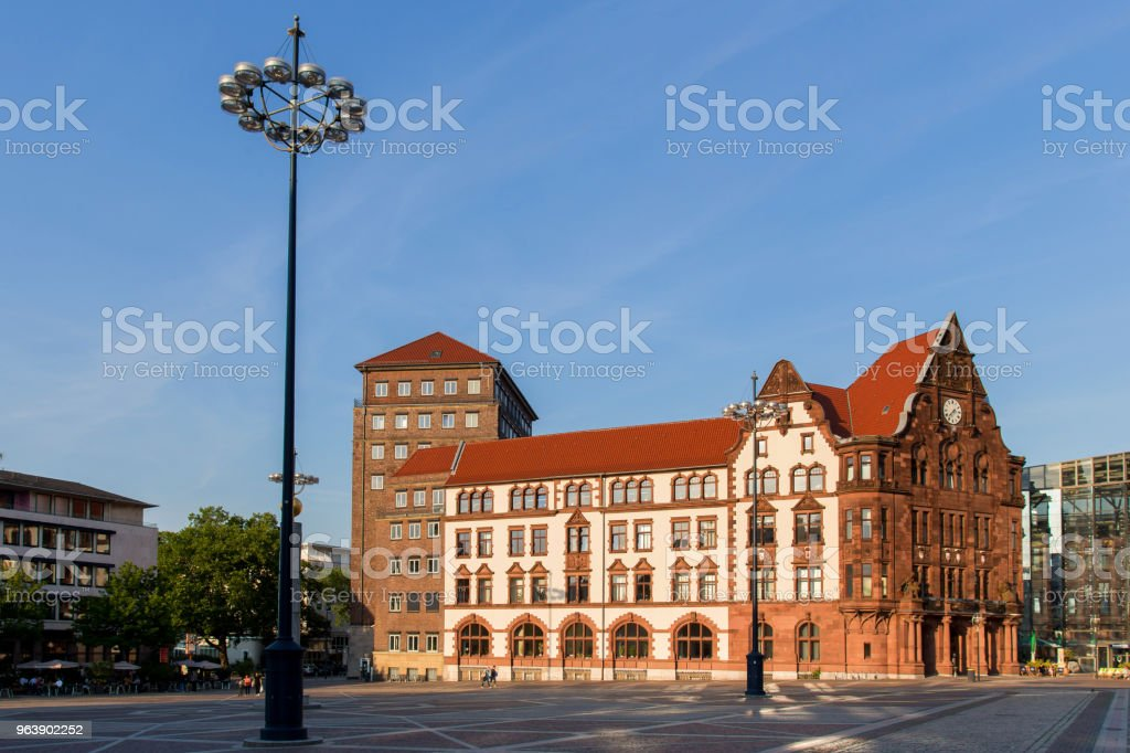 dortmund historic city hall germany - Royalty-free City Stock Photo