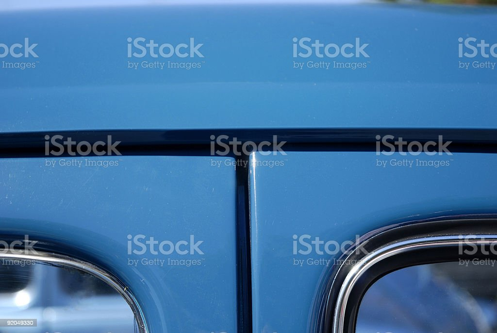 Dorways in blue royalty-free stock photo
