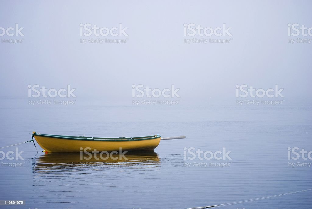 Dory in the Fog royalty-free stock photo