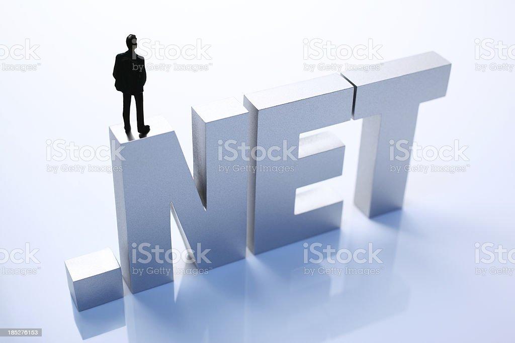 Dot Net royalty-free stock photo