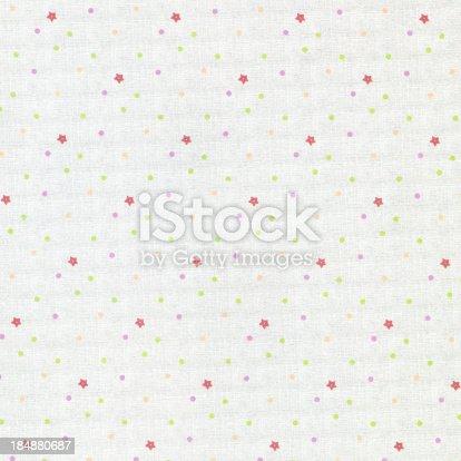 istock Dot & Star pattern on paper 184880687