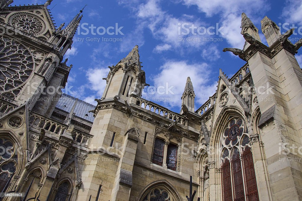 Dotre Dame, Paris stock photo