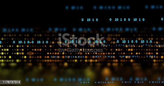 868434080 istock photo dots and lines connection on abstract technology background. 1176737314