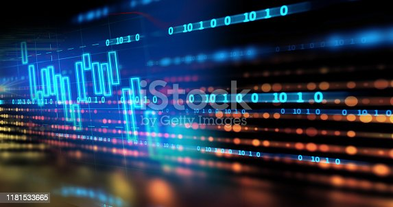 868434080 istock photo dots and lines connection on abstract technology background. 1181533665