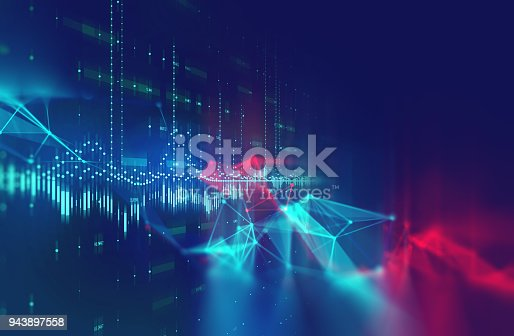 868434080 istock photo dots and lines connection on white abstract technology background. 943897558