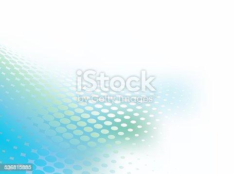 istock Dots Flare Information Backkground 536815885