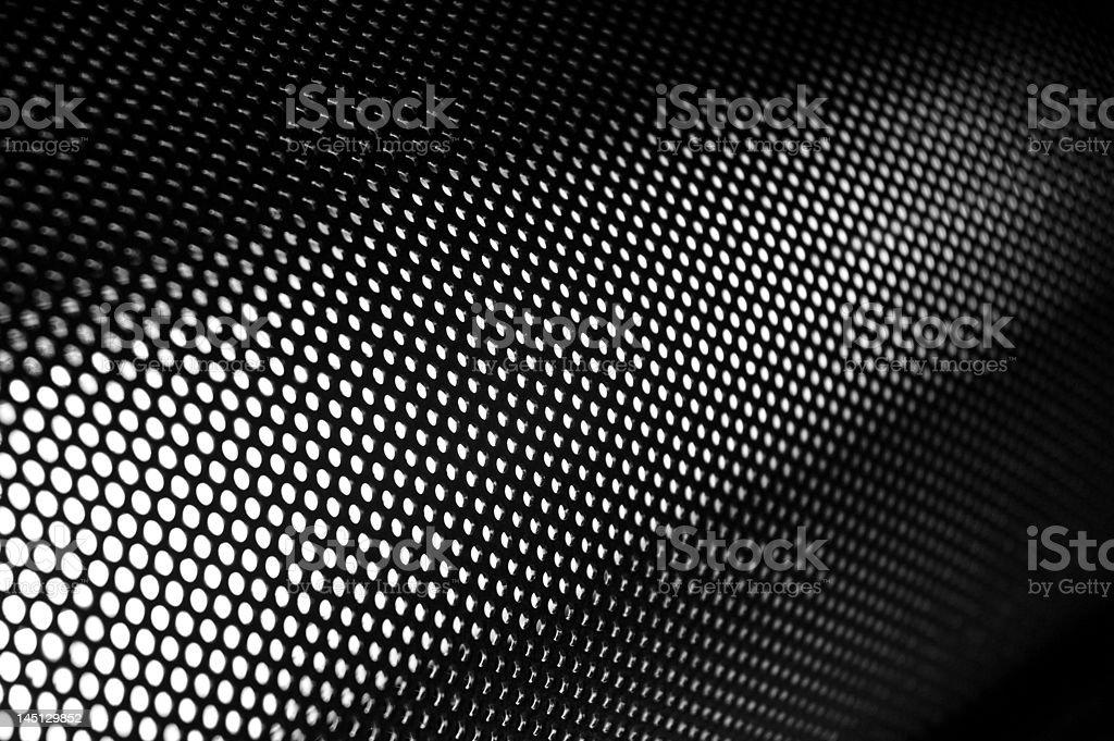 Dots modern background - corner stock photo