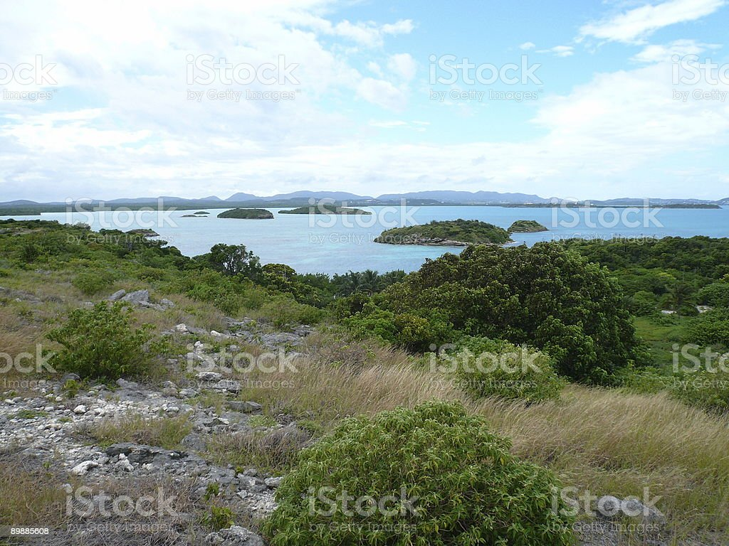 Dots of Island - Antigua royalty-free stock photo
