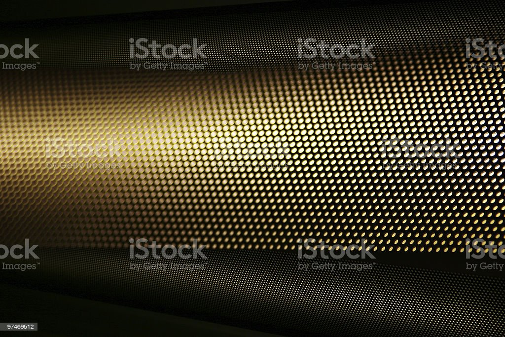 dotted metal light beam royalty-free stock photo