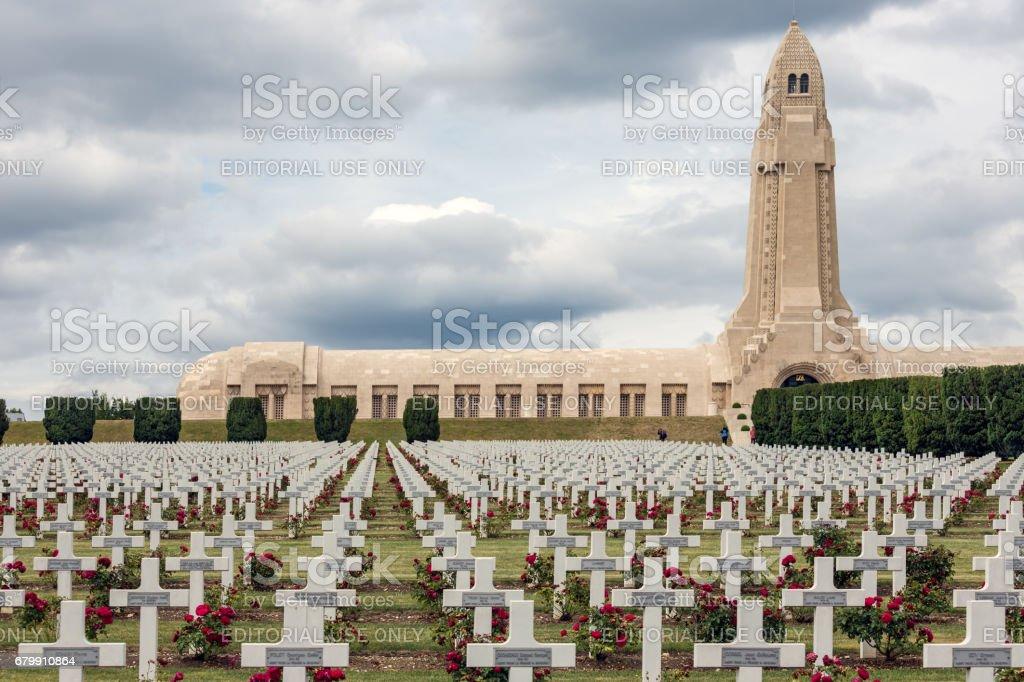 Douaumont ossuary and WW1 cemetery Verdun, France – zdjęcie