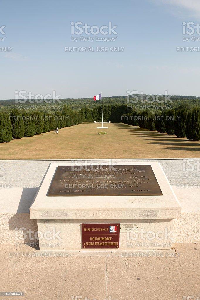 Douaumont Ossuarium, Bitwa pod Verdun, I Wojna Światowa Francja Rozejm – zdjęcie