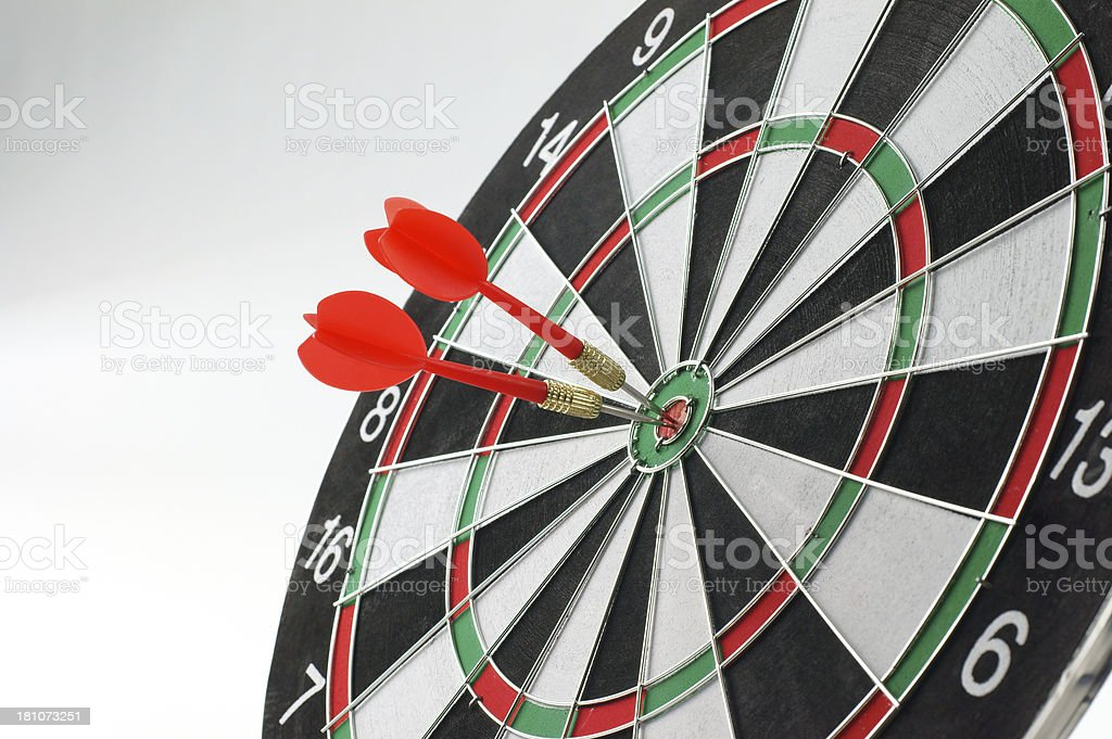 Double Bull's Eye stock photo