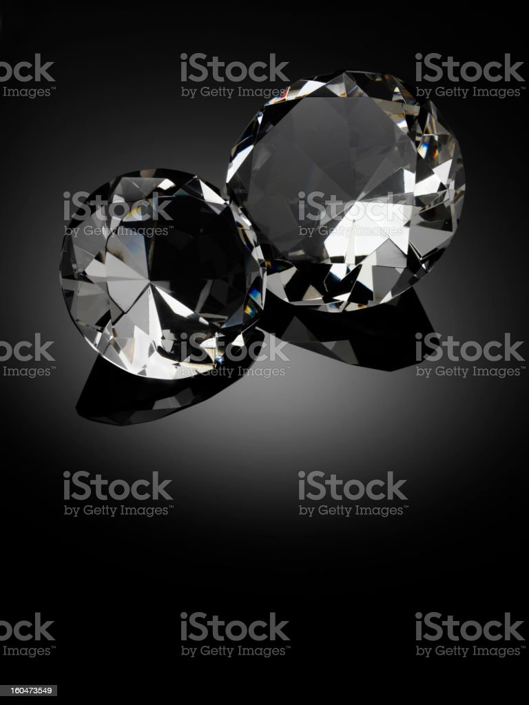 Double Diamond royalty-free stock photo