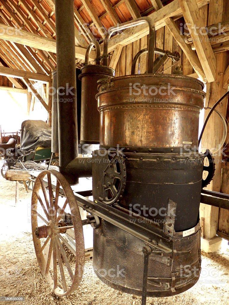 Destilación aún dobles - foto de stock