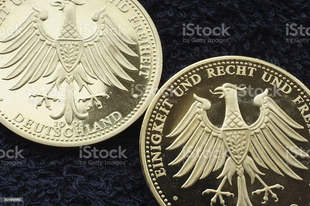 Double eagle Lizenzfreies stock-foto