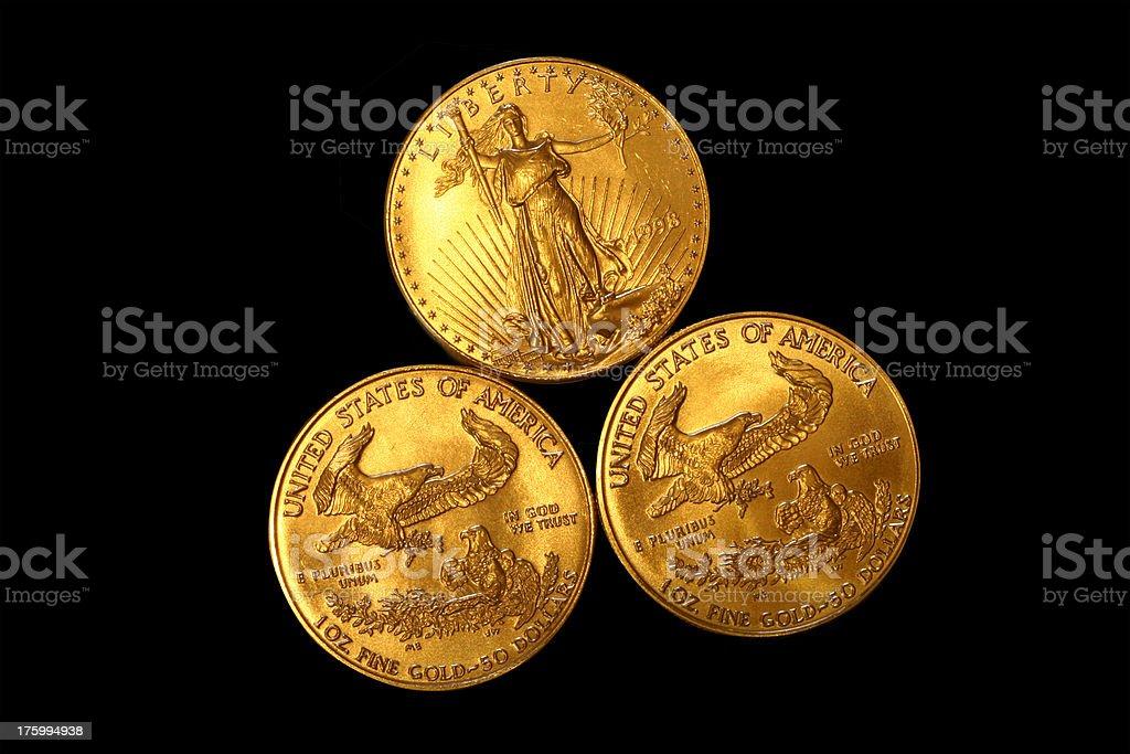 double eagles royalty-free stock photo