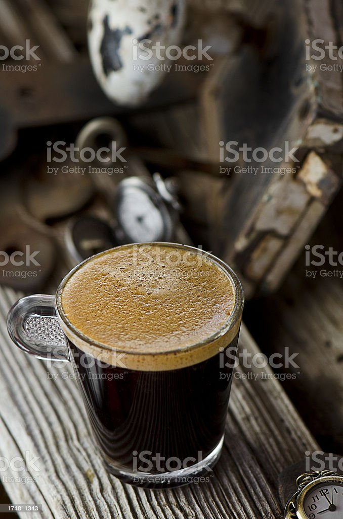 Double Espresso royalty-free stock photo