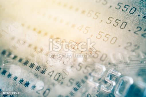 istock double exposure of bankbook and credit card , for business and finance background 1092019806