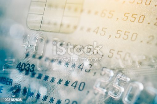 istock double exposure of bankbook and credit card , for business and finance background 1095182806