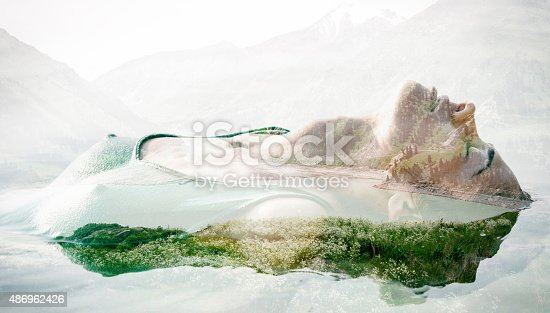 624717328istockphoto Double exposure portrait 486962426