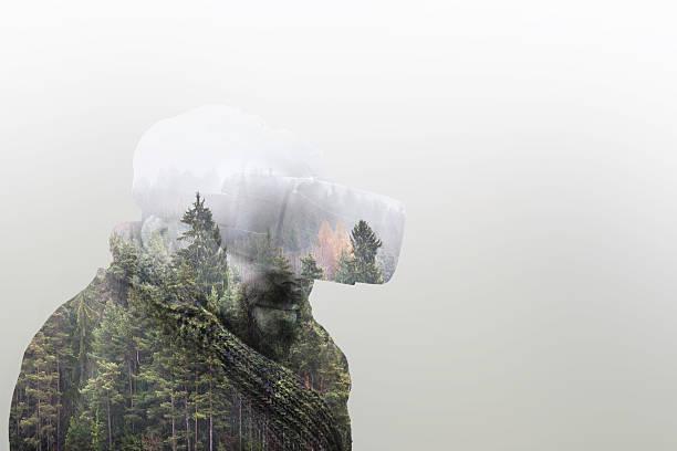 Double Exposure Virtual Reality - Photo
