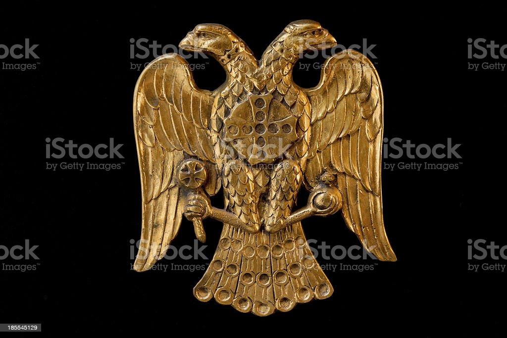 Double Headed Eagle stock photo