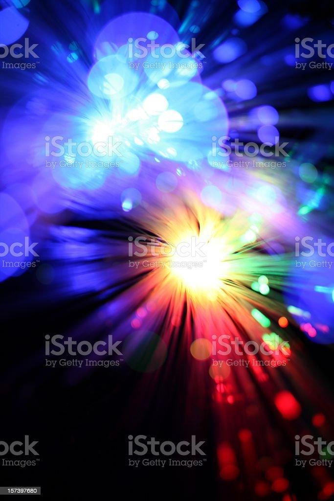 Double Light Burst royalty-free stock photo