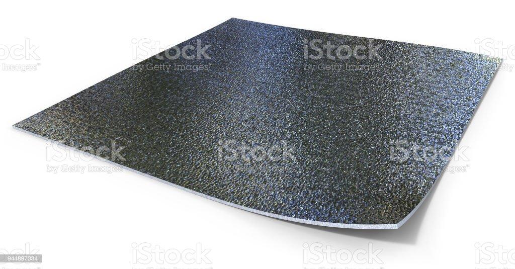 Doppelte metallisierte Wärmedämmung mit Schaumkern – Foto