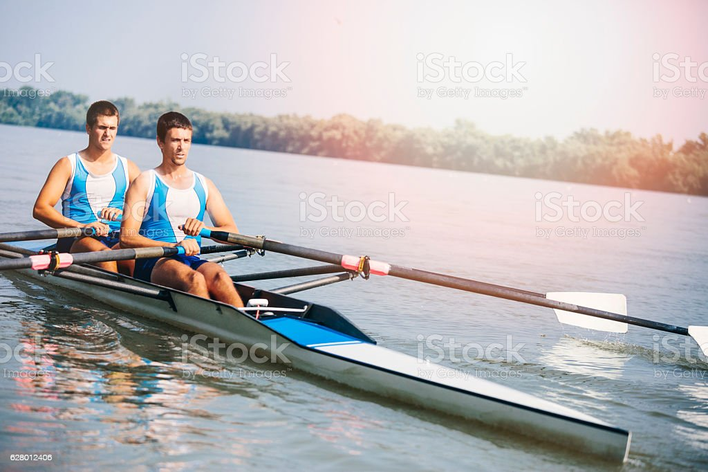 Double scull rowing - Photo