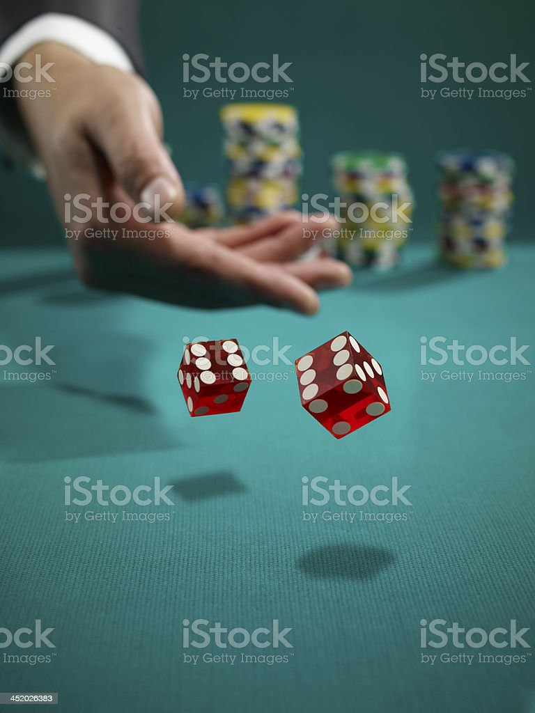 Double Six stock photo