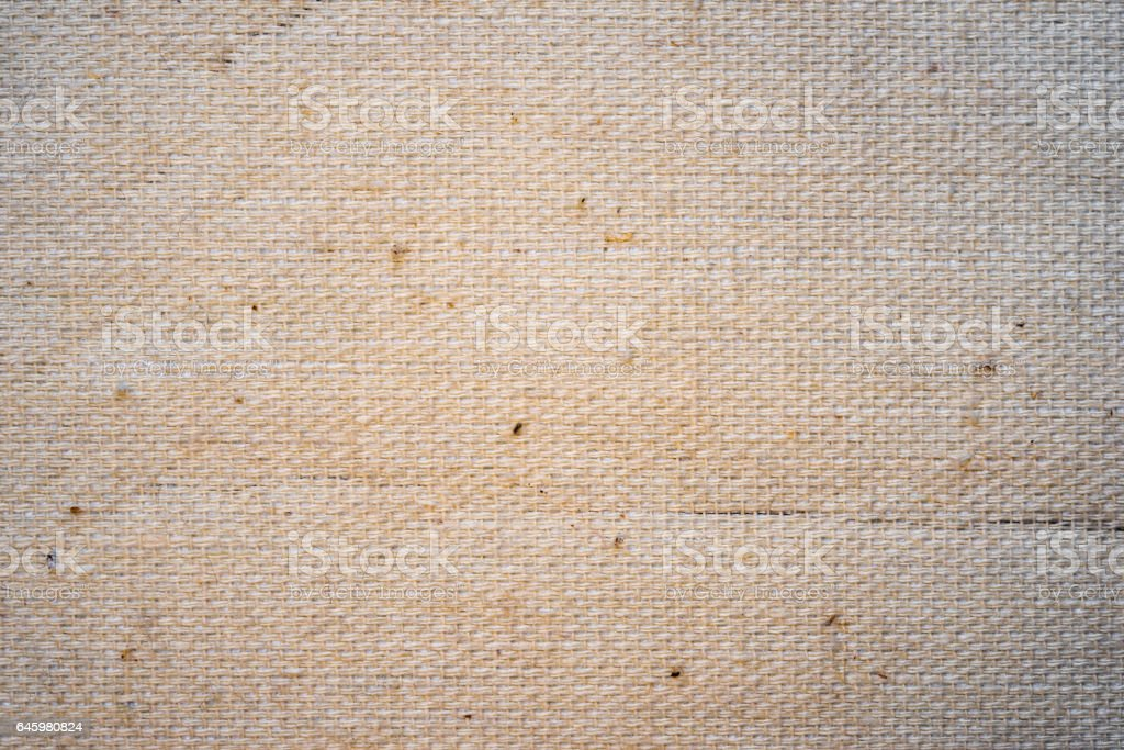 double thread burlap canvas texture, background for design. stock photo
