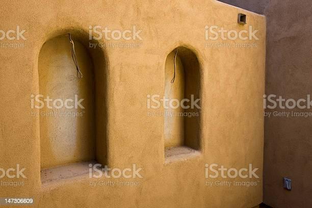 Doppelte Wand Nischen Im Bau Stockfoto und mehr Bilder von Architektur