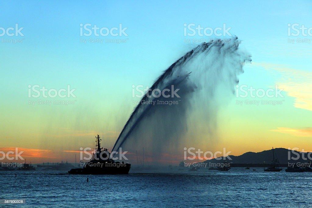 Double Water stock photo