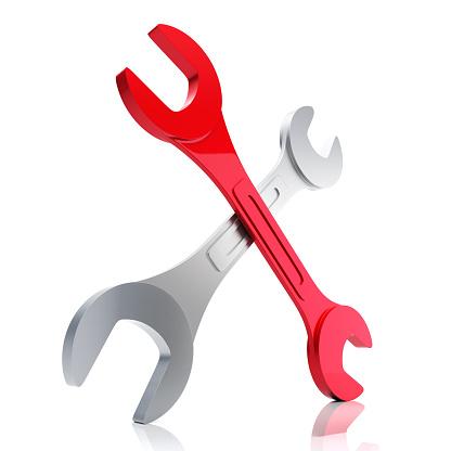 istock Double Wrench 526420607