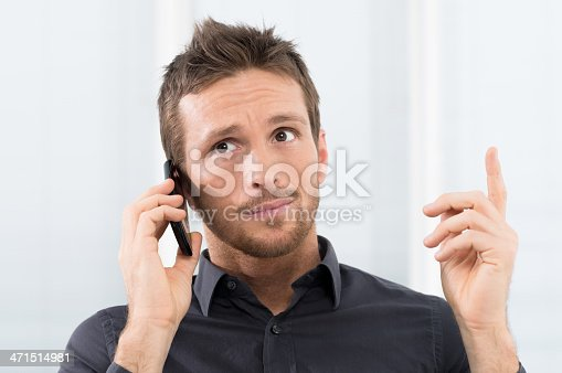 istock Doubt at phone 471514981