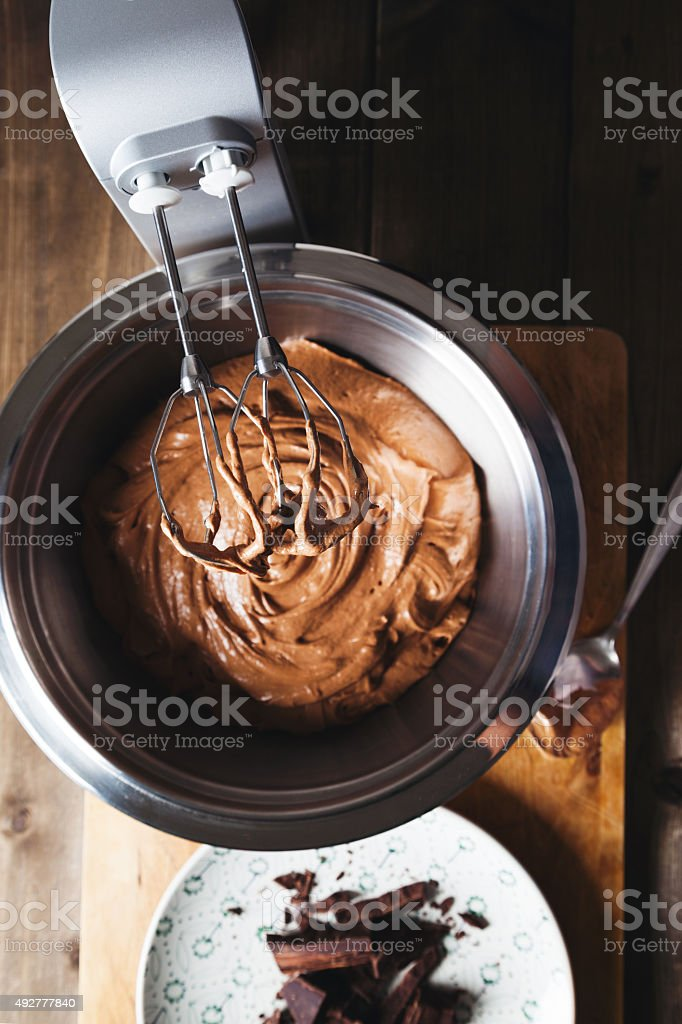 dough cake stock photo