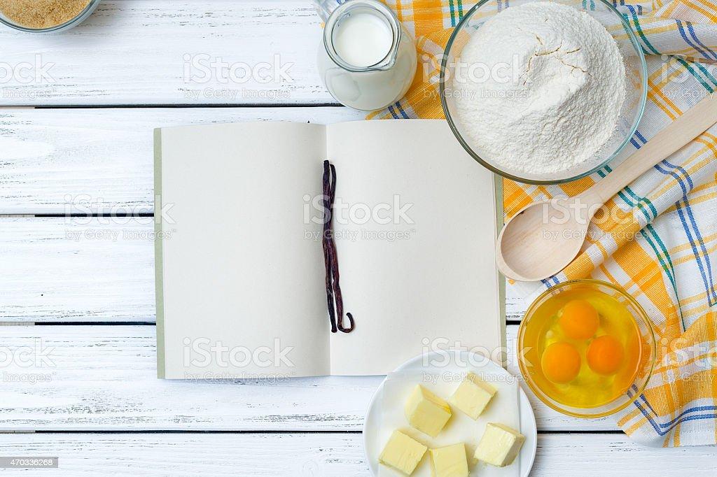 Receita da massa ingredientes - foto de acervo
