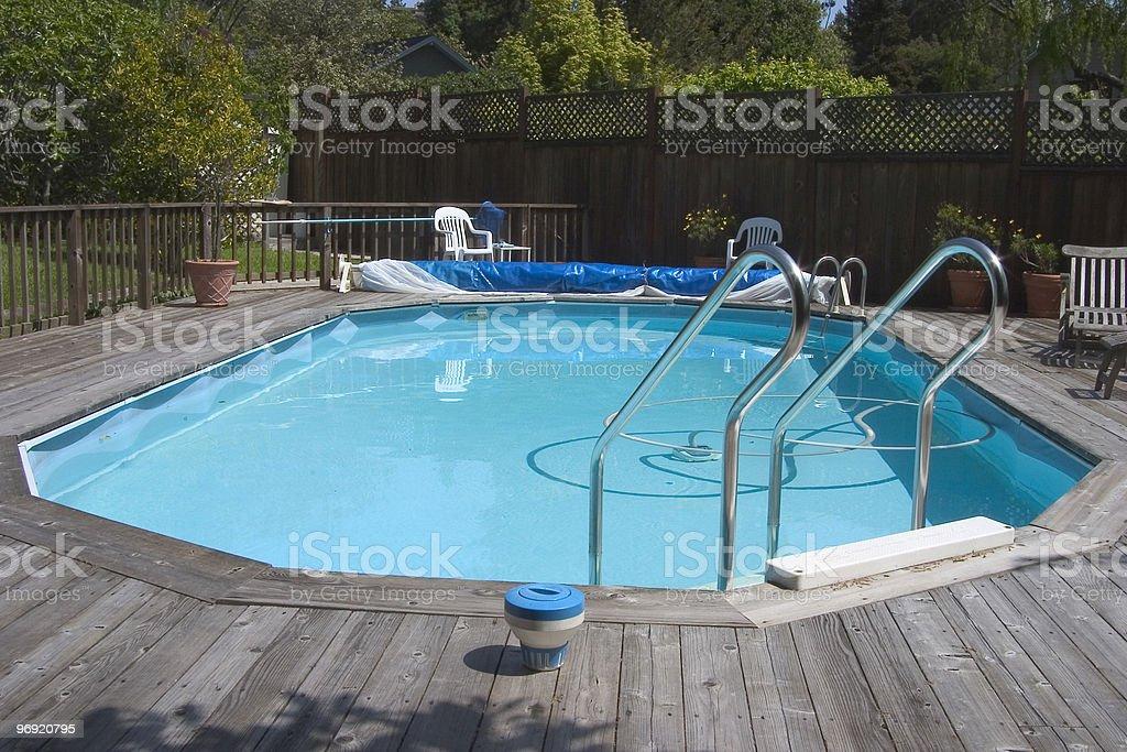 Doughboy Pool royalty-free stock photo