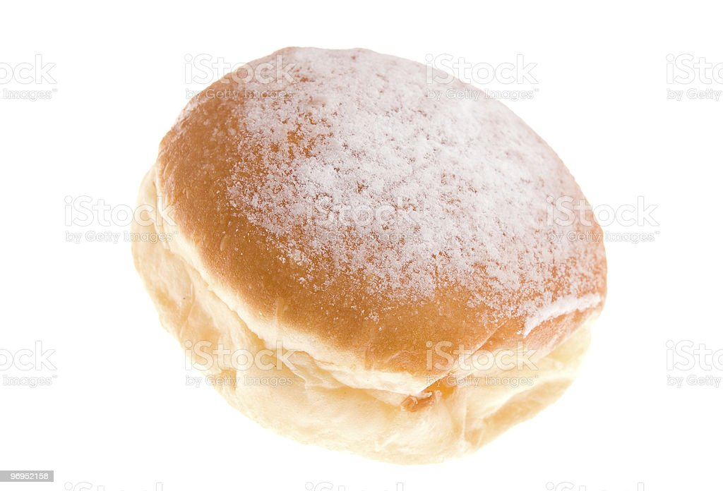 Doughnut on isolated royalty-free stock photo