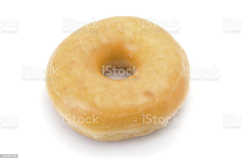 doughnut or donut isolated on white stock photo