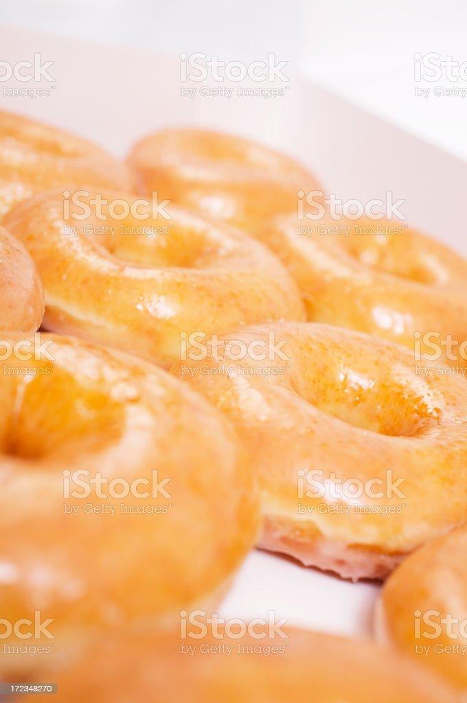 Doughnuts (high key) royalty-free stock photo