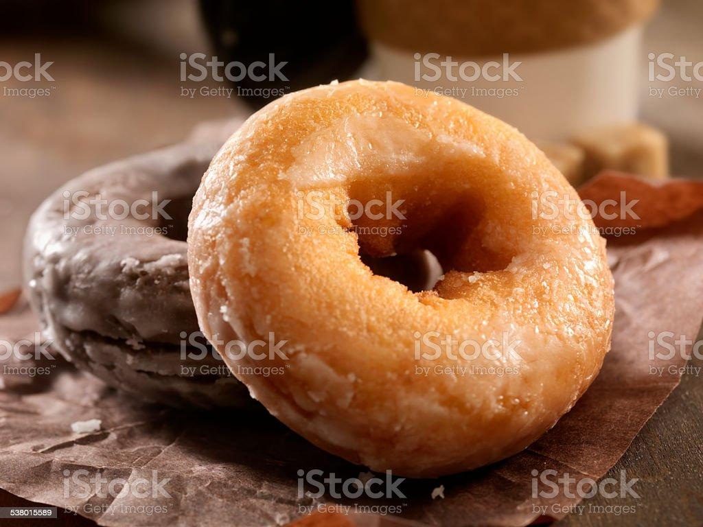 Doughnuts stock photo