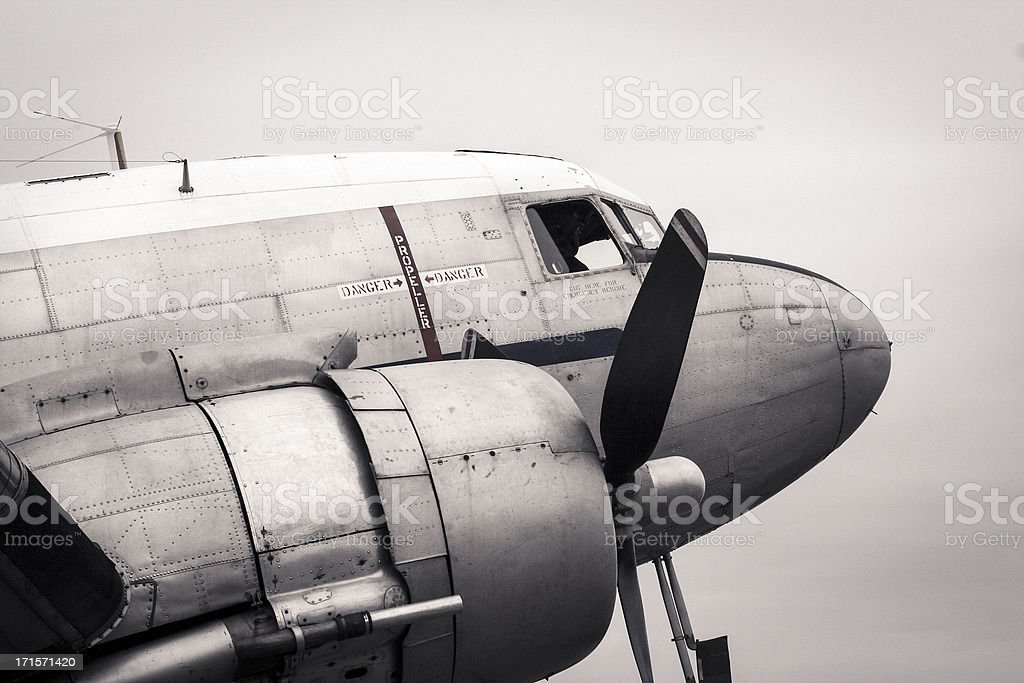 Douglas DC-3 stock photo