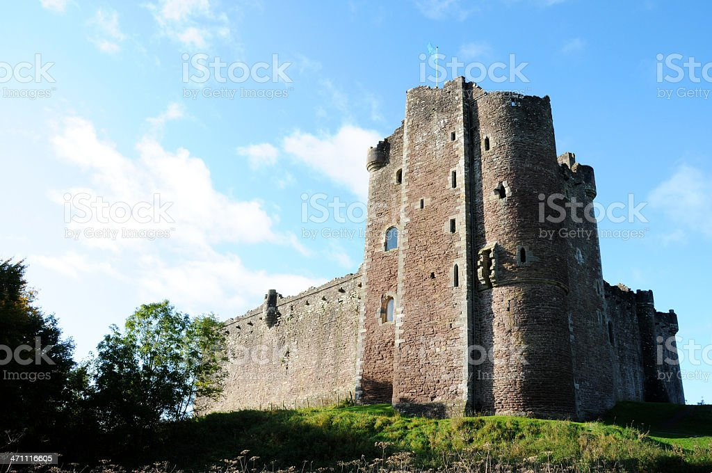Doune Castle stock photo