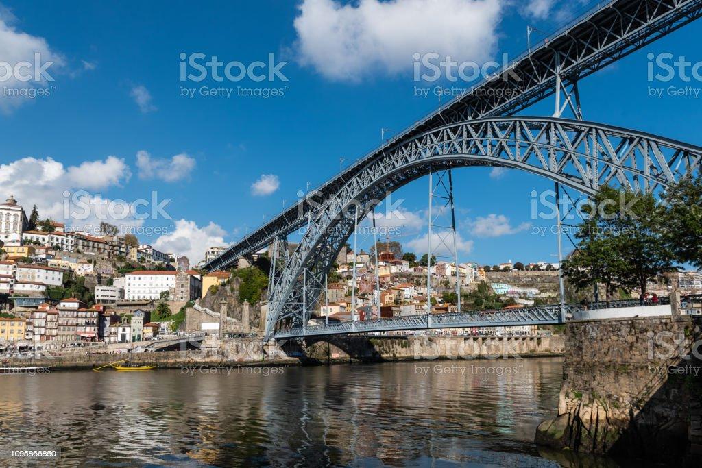 Douro Bridge, Porto, Portugal stock photo