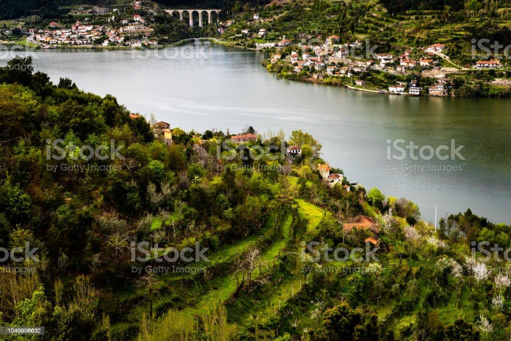 Douro-Fluss, Porto und Borderline Viseu, Portugal – Foto