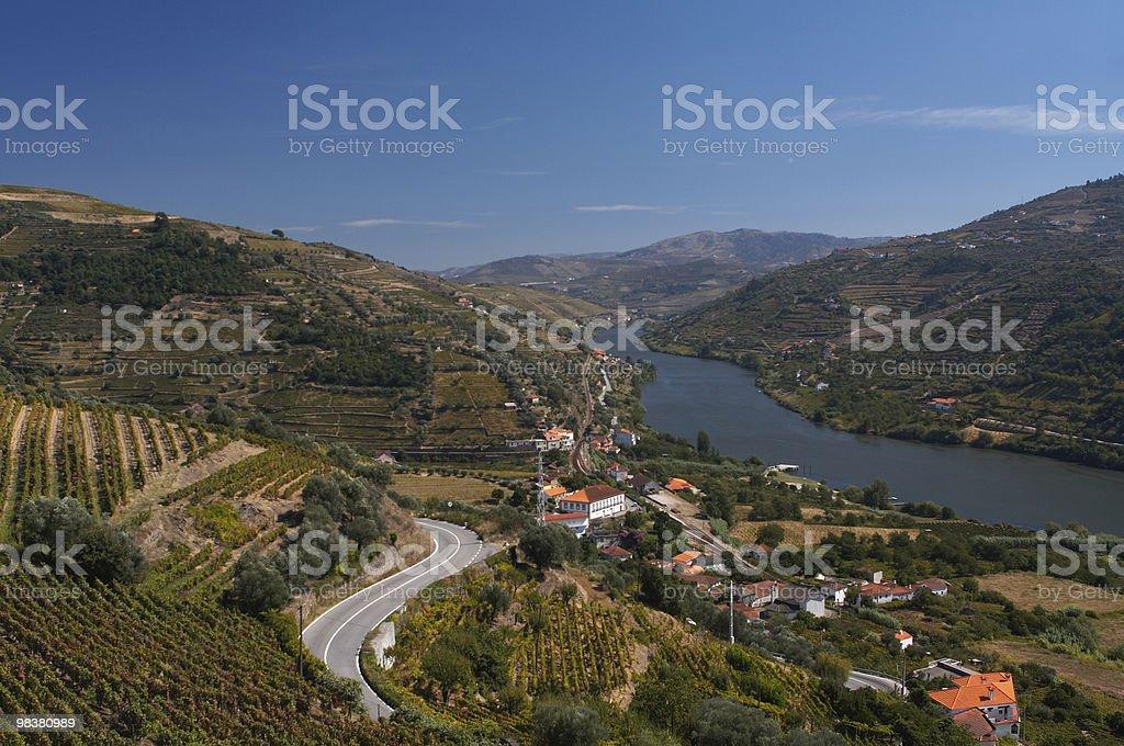 Douro river view royalty-free stock photo
