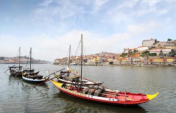 Douro riverside. Porto, Portugal. stock photo