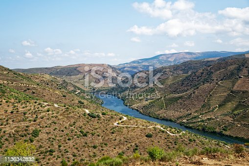 Douro vineyards in september when is ocorruring the vintage