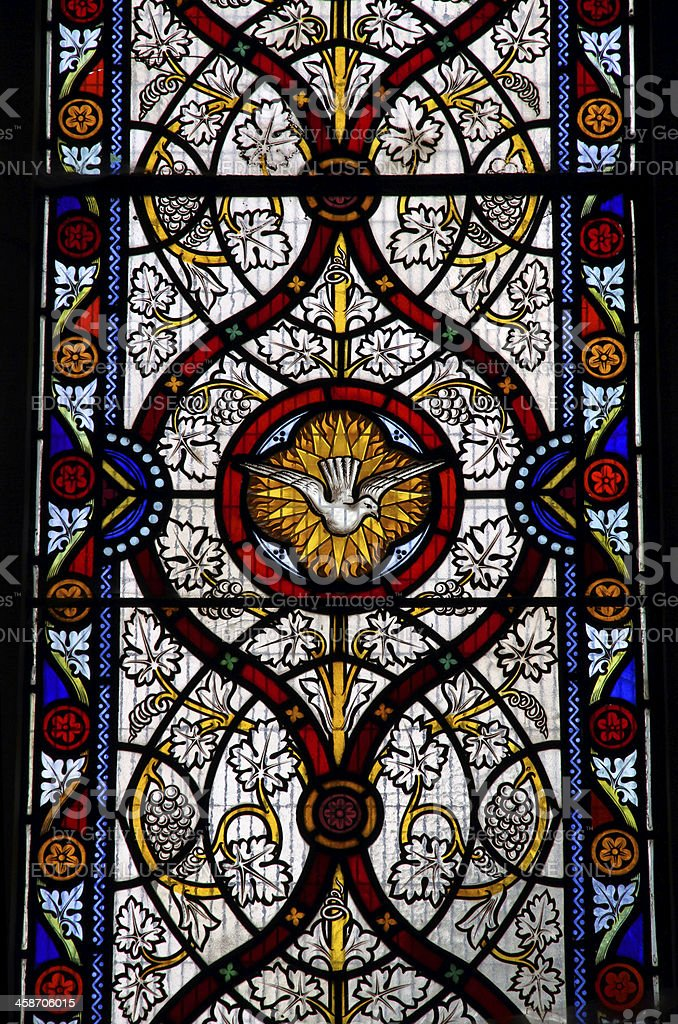 Dove Glass royalty-free stock photo